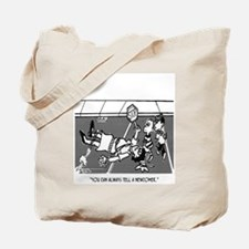Crossing Guard Cartoon 2163 Tote Bag