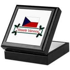 Czech Vesele Vanoce Keepsake Box
