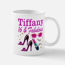 16 AND FABULOUS Small Mugs
