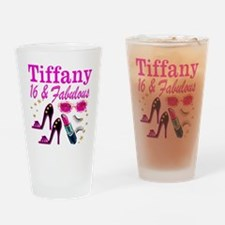 16 AND FABULOUS Drinking Glass