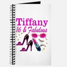 16 AND FABULOUS Journal