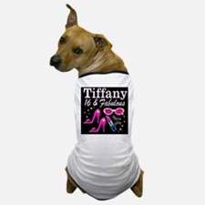 SNAZZY 16TH DIVA Dog T-Shirt