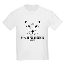 Humans For Cheetahs Kids' T-Shirt
