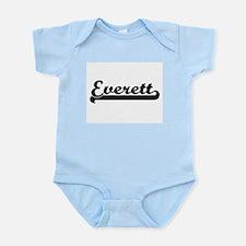 Everett surname classic retro design Body Suit