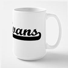 Evans surname classic retro design Mugs