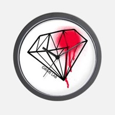 Dead Diamond Wall Clock