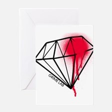 Dead Diamond Greeting Cards