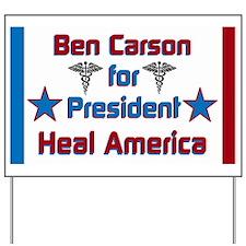 Heal America Yard Sign