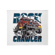 Rock Crawler 4x4 Throw Blanket
