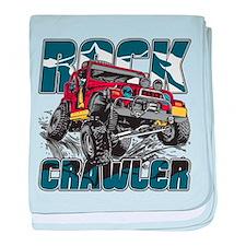 Rock Crawler 4x4 baby blanket
