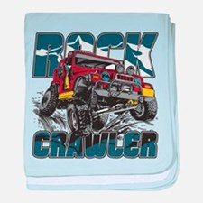 Rock Crawler 4x4 baby blanket