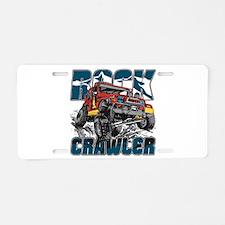Rock Crawler 4x4 Aluminum License Plate