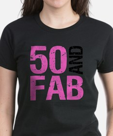 Fabulous 50th Birthday Tee