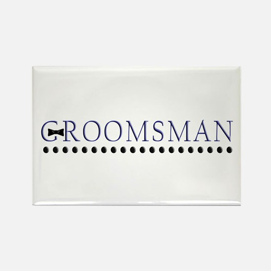 Groomsman Rectangle Magnet
