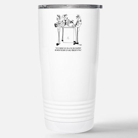 Terrorism Cartoon 7359 Stainless Steel Travel Mug
