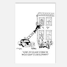 Police Cartoon 5798 Postcards (Package of 8)
