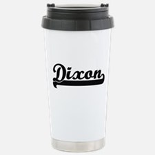Dixon surname classic r Travel Mug