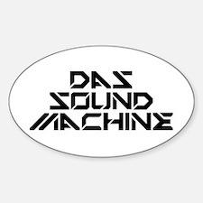 Pitch Perfect 2: DAS Sound Machine Sticker (Oval)