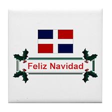 Dominican Feliz... Tile Coaster