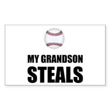 Grandson Steals Baseball Decal