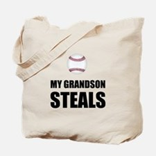 Grandson Steals Baseball Tote Bag