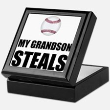Grandson Steals Baseball Keepsake Box