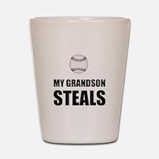 Grandson Steals Baseball Shot Glass