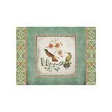 Hummingbird vintage 5x7 Rugs