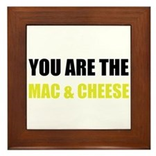 Mac And Cheese Framed Tile