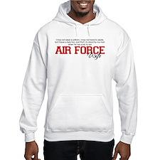 Silent Ranks Air Force Wife Hoodie
