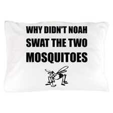 Noah Mosquitoes Pillow Case
