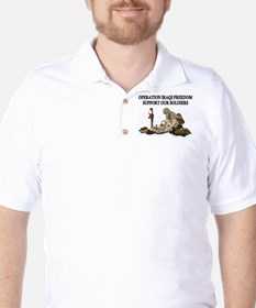 OIF Support our Soldiers T-Shirt