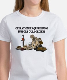 OIF Support our Soldiers Tee