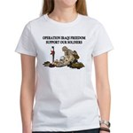 OIF Support our Soldiers Women's T-Shirt