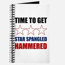 Star Spangled Hammered Journal