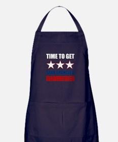 Star Spangled Hammered Apron (dark)