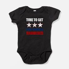Star Spangled Hammered Baby Bodysuit