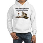 OIF Support our Soldiers Hooded Sweatshirt