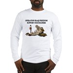 OIF Support our Soldiers Long Sleeve T-Shirt