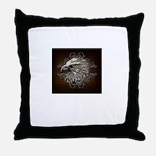 Cool Mens eagle Throw Pillow