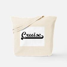 Cruise surname classic retro design Tote Bag
