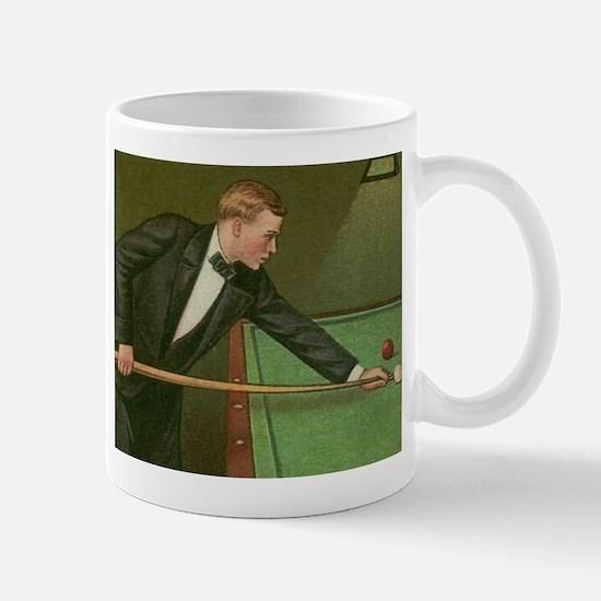 billiards art Mugs
