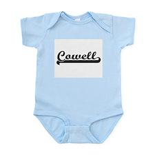 Cowell surname classic retro design Body Suit