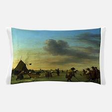 golfing art Pillow Case