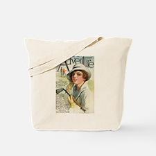 golfing art Tote Bag
