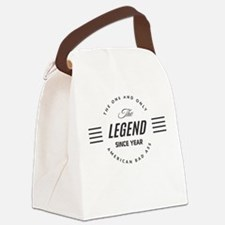 Personalized Birthday Legend Canvas Lunch Bag