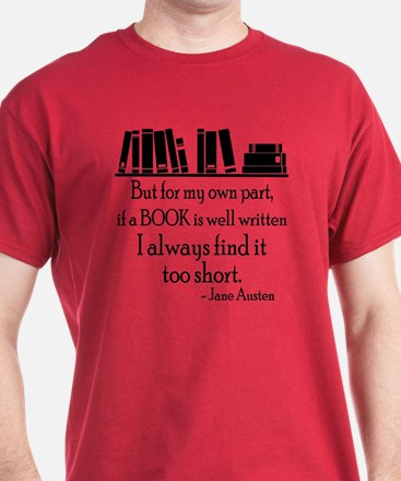 Book Lover Quote T-Shirt