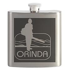 Cute Leafs Flask