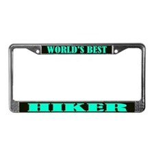 World's Best Hiker License Plate Frame