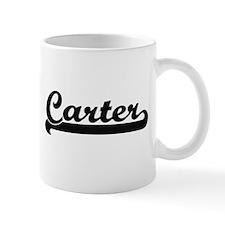 Carter surname classic retro design Mugs